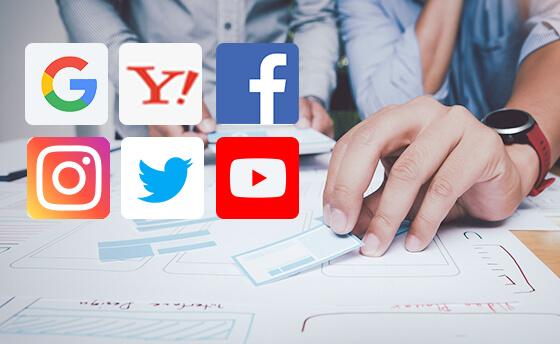 ネット広告運用(6媒体対応)